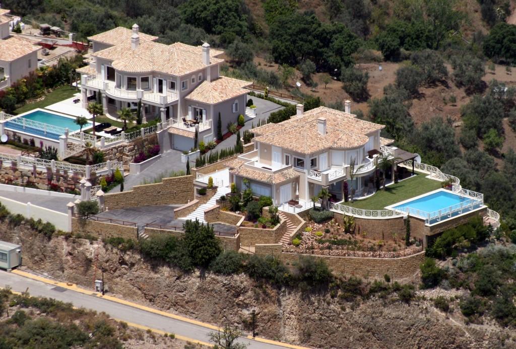 Villas de Arruaso desde arriba