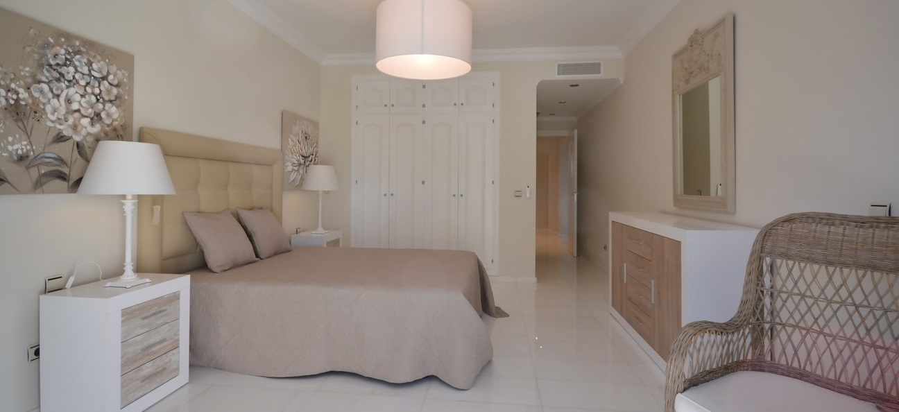 Dormitorio Apartamento de Arruaso