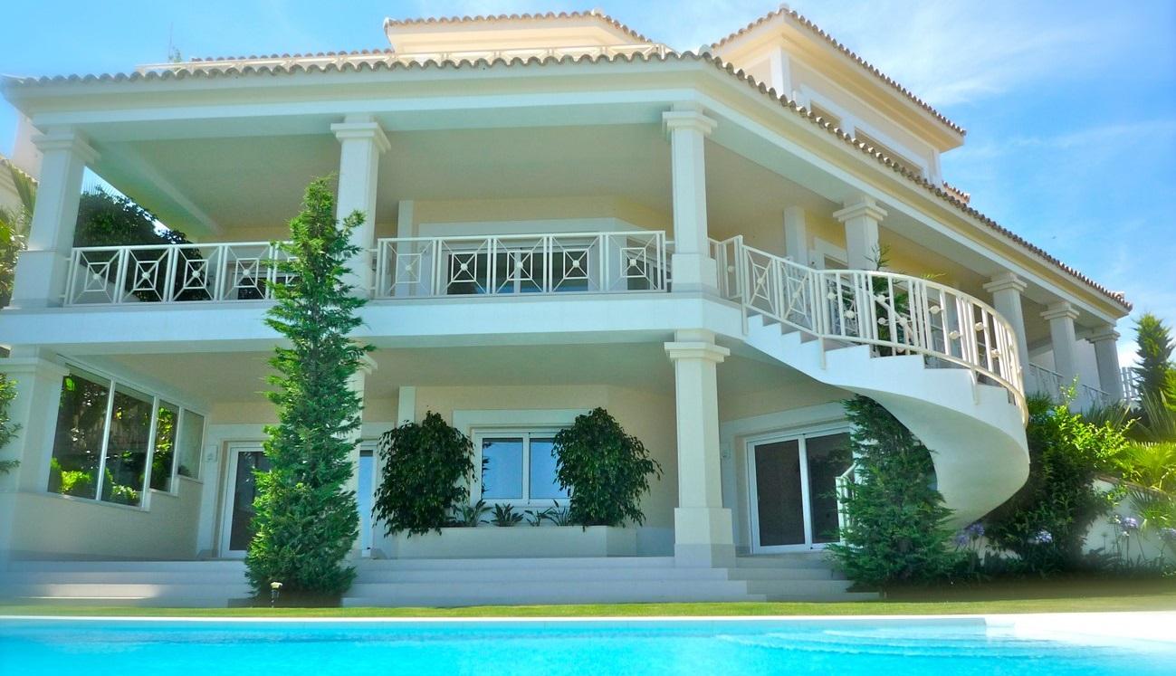 Villa con piscina de Arruaso